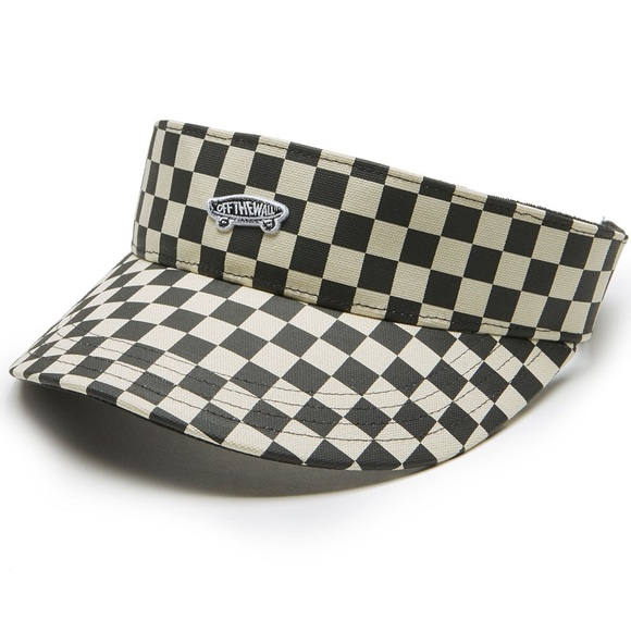 CHECKERED VANS VISOR HAT fb155669d57